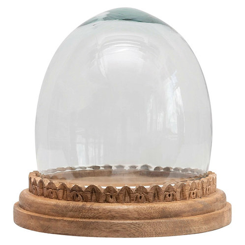 Recycled Glass Cloche