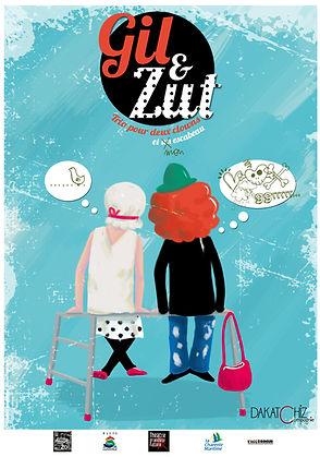 Gil&Zut, duo de clowns, Dakatchiz