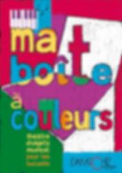 Ma boîte à couleurs, spectacle petite enfance, Dakatchiz