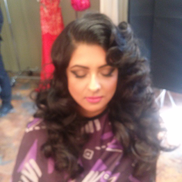 Instagram - #Bts for #jag'argon oil ad campaign shoot with #roycox #hair #waves