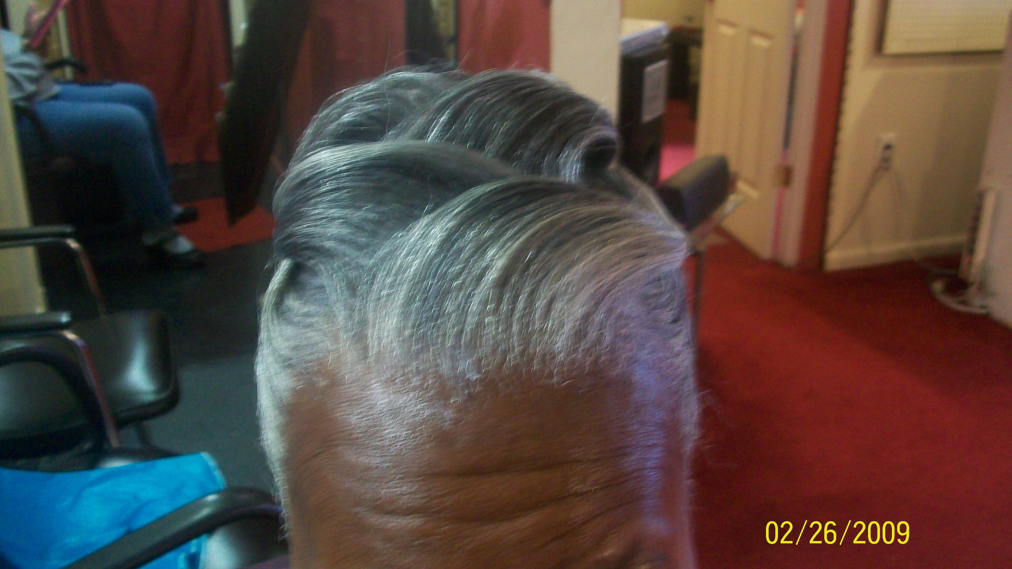 updo for seniors