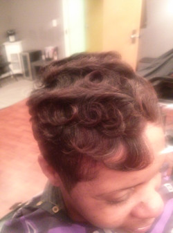 soft waves relaxed hair