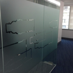 Glass Panel Accent