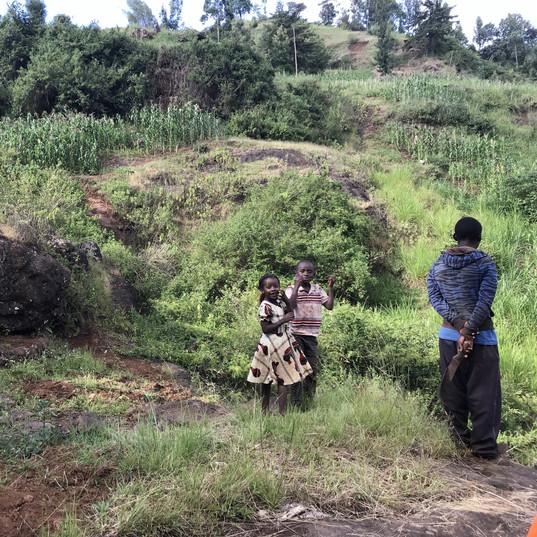 Exploring Gitugu, Kenya with locals