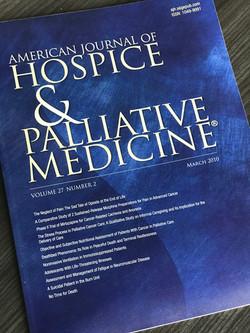 Am J Hosp and Pall Med