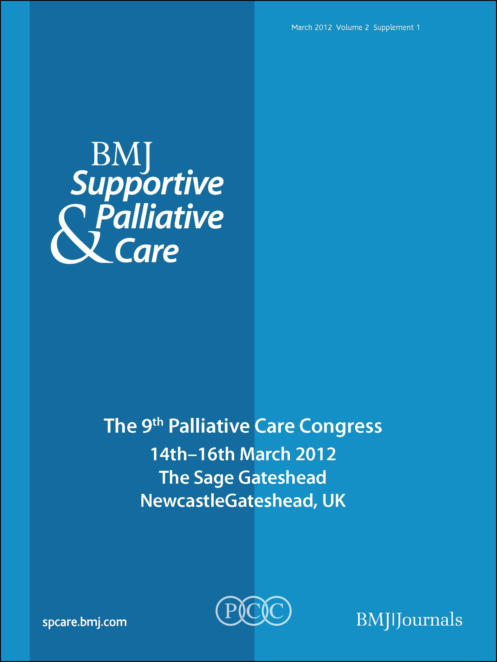BMJ support pall care