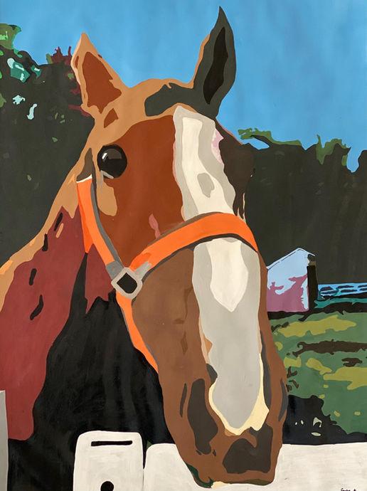 Biggie the Saddlebred