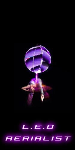 LED aerialist
