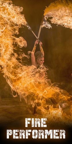Fire Perfromer Tammy