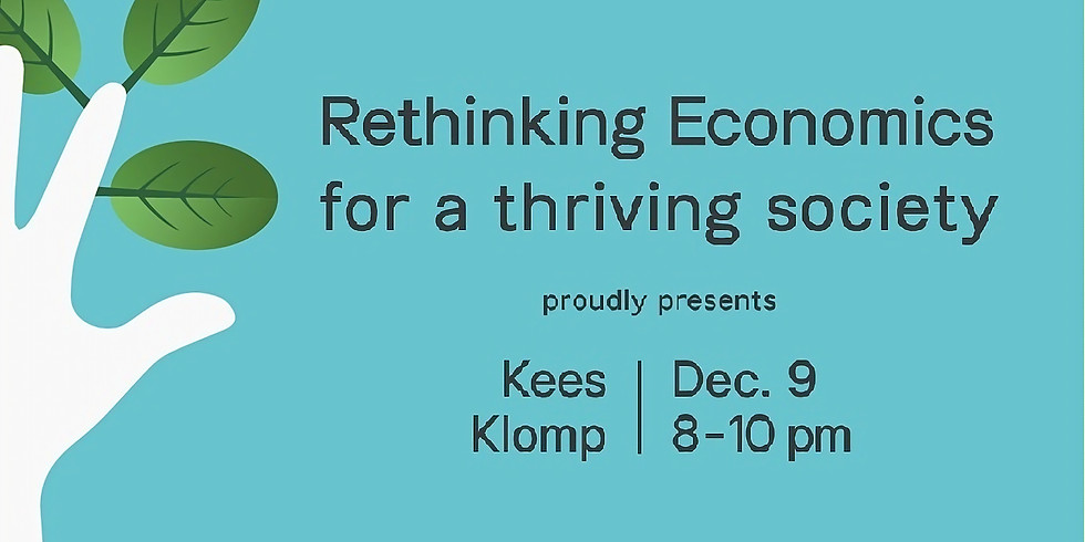 Rethinking Economics for a thriving society