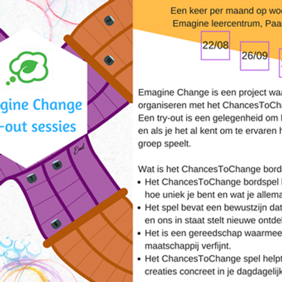 Emagine Change Try-out