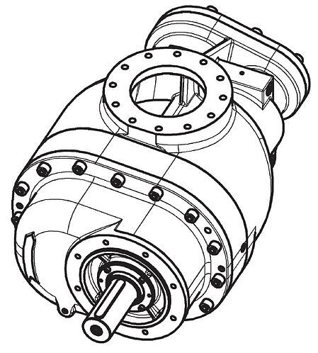 Винтовой блок CF180G2