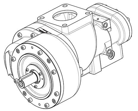 Винтовой блок CF75G