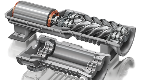 High-reliability-of-air-screw-compressor