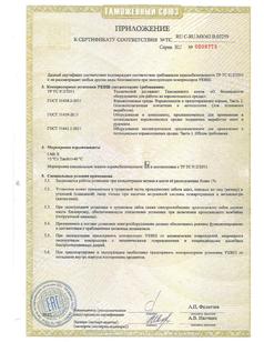 УКВШ ТР ТС 012 5