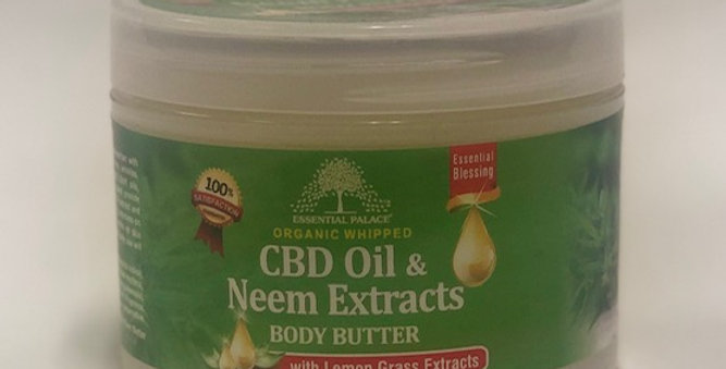CBD Oil & Neem Extracts (Body Butter)
