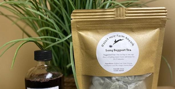 Elderberry/Lung Support Tea (Free Steeper inside)