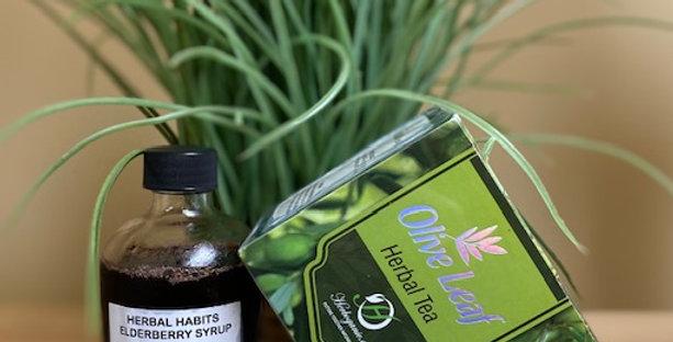 Elderberry/Herbal Tea Package #1