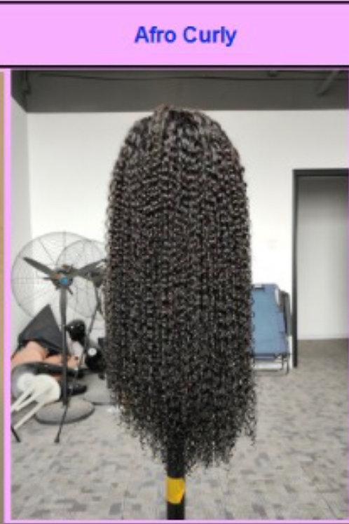 20'' Transparent Lace Wig