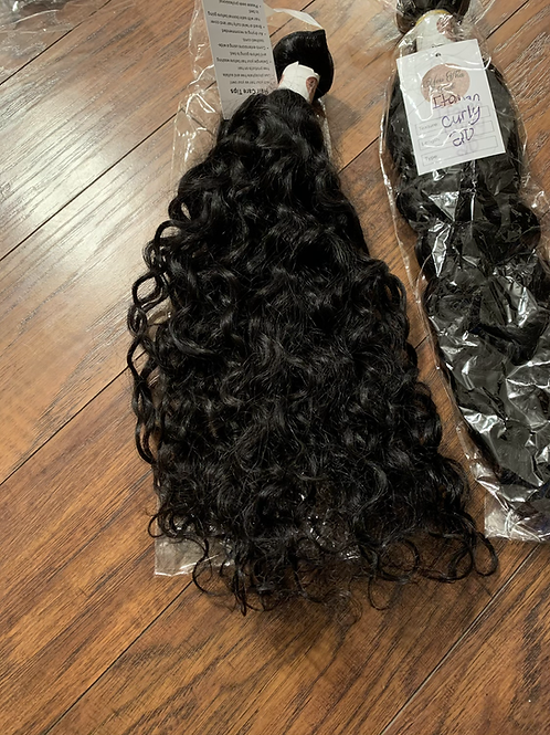 20 inch Italian Curly
