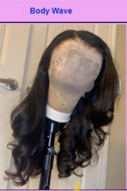 18'' Transparent Lace Wig