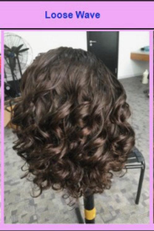 14'' Transparent Lace Wig