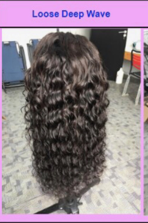 18'' Lace Frontal Wig