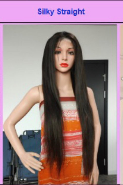 20'' 5x5 Transparent Lace Wig