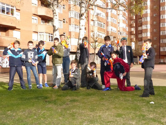 Batalla Nerf y Anciles Total