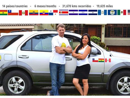 Viajamos de Perú a Estados Unidos en nuestro auto. Sueño cumplido!