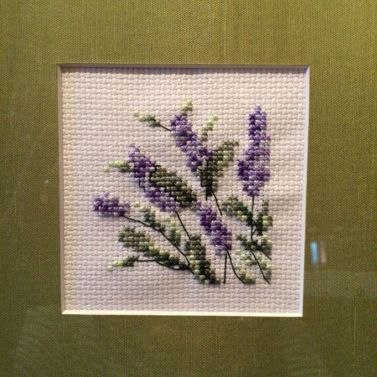 Square Framed ~ Lavendar