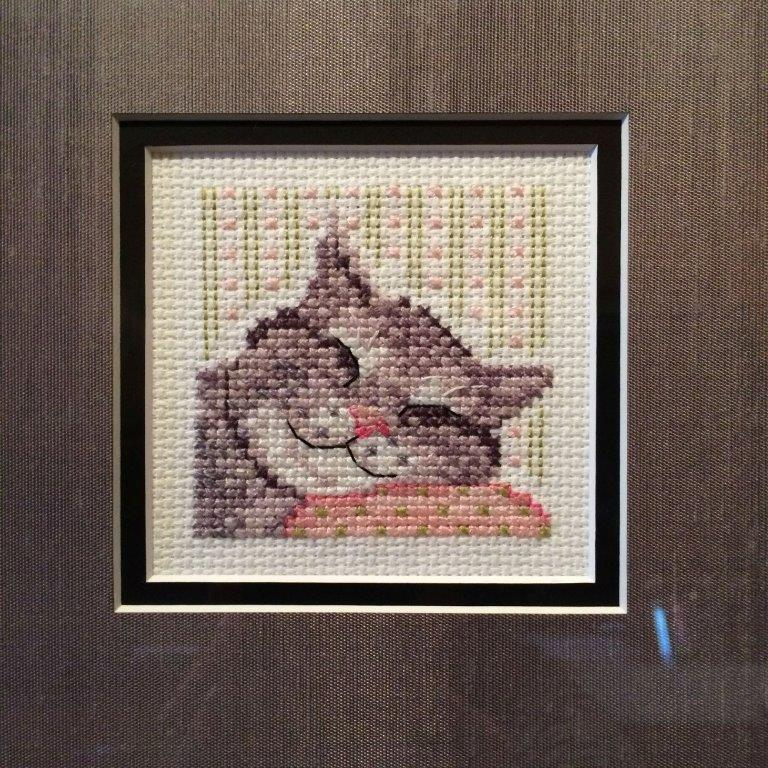 Square Framed ~ Cat
