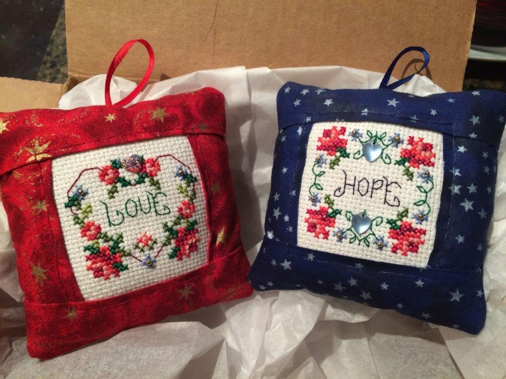 Pillow Ornaments