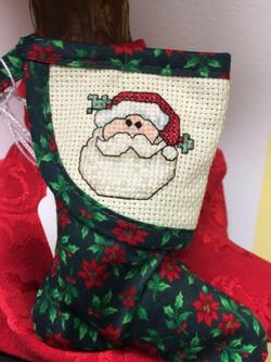 Santa Stocking Ornament