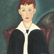 Modigliani's Boy in Sailor Suit