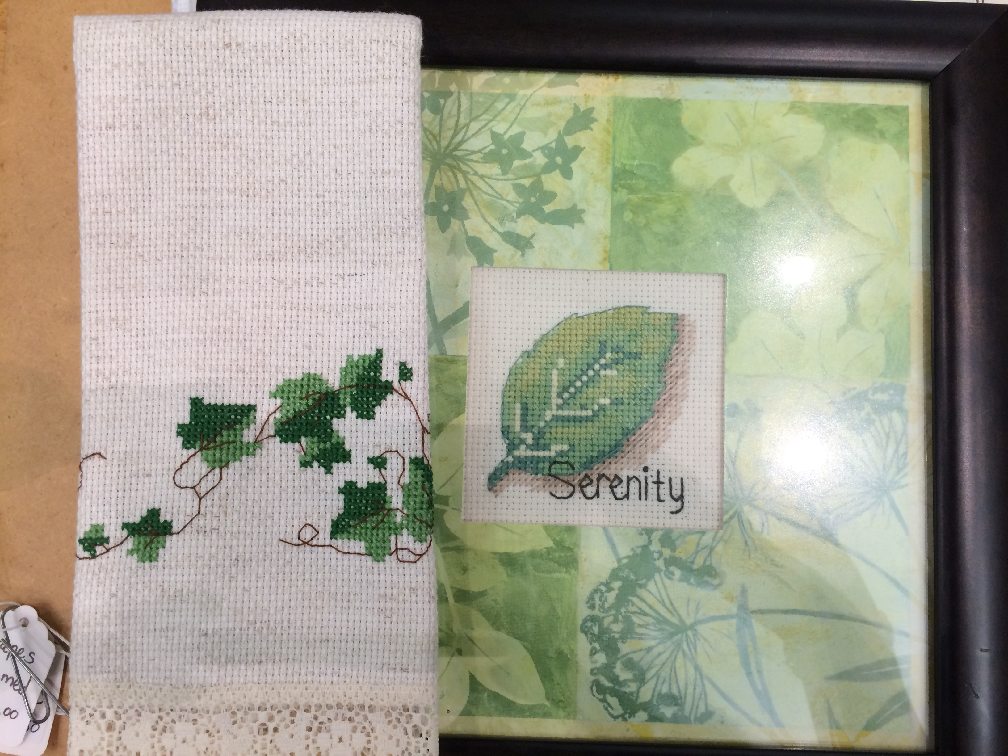 Cross Stitch Green