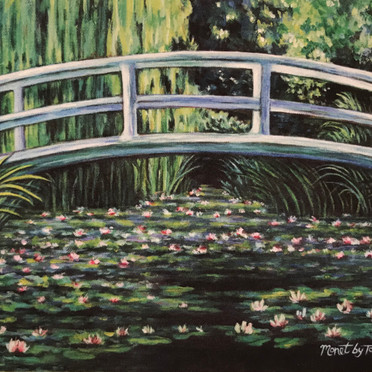 Claude Monet's The Water Lilly Pond
