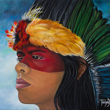 Hiawatha's Headdress II