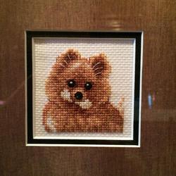 Square Framed ~ Dog
