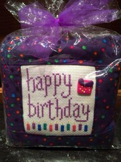 Pillow ~ Happy Birthday