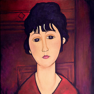 Modigliani's Head of a Young Girl