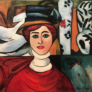 Henri Matisse's Girl with Green Eyes