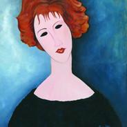 Modigliani's Redhead