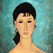 Modigliani's Elvira