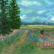 Claude Monet's Poppy Field