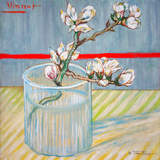 Vincent van Gogh's Blossoming Almond Bra
