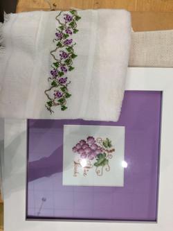 Cross Stitch Purple