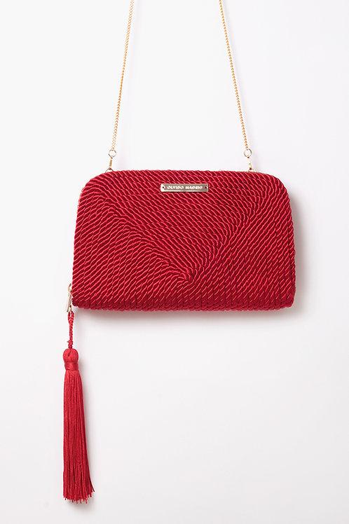 Bolso de fiesta Jimena · rojo Valentino