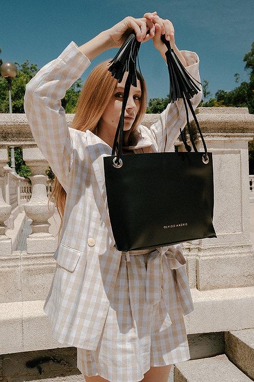 Tote Bag Bea · Piel Premium Negro
