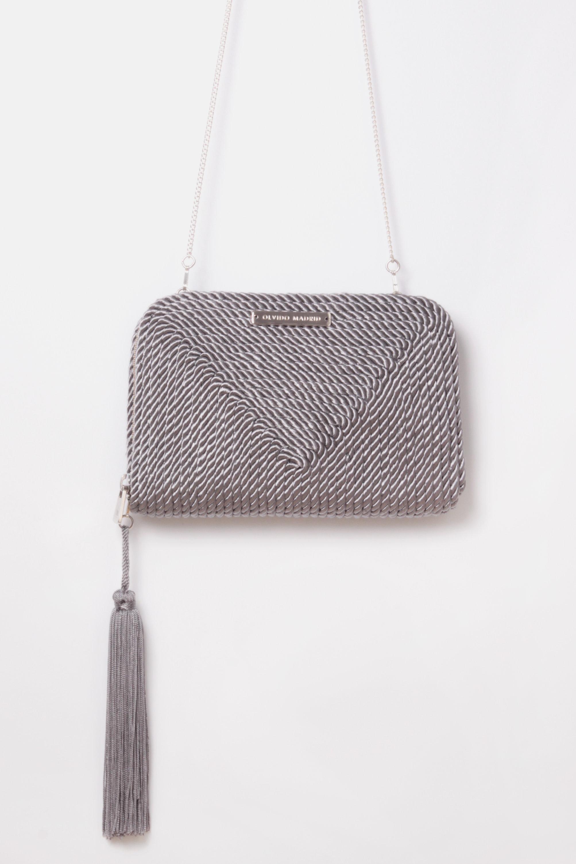 9f62e9326 Bolso de fiesta Jimena · gris plata